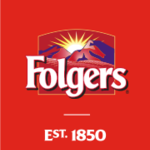 Folgers coffee logo header desktop